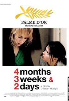 4 Months, 3 Weeks & 2 Days Poster Large