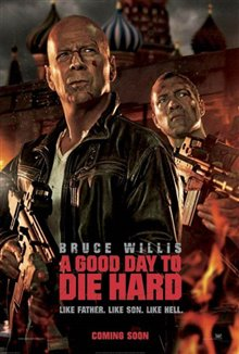 A Good Day to Die Hard  Poster Large