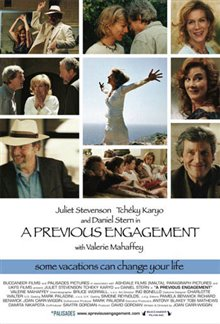 A Previous Engagement Poster Large
