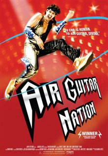 Air Guitar Nation Poster Large