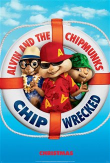 Alvin and the Chipmunks: Chipwrecked Poster Large