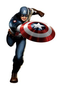 Captain America: The First Avenger Poster Large