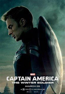 Captain America: The Winter Soldier Poster Large