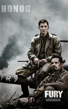 Fury Poster Large