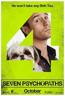 Seven Psychopaths Poster Large