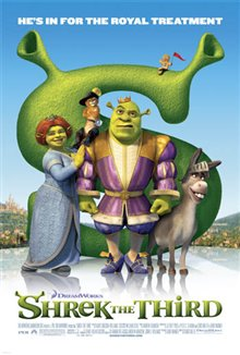 Shrek the Third Poster Large