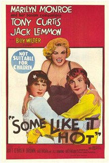 Some Like It Hot Poster Large