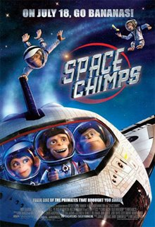 Space Chimps Poster Large