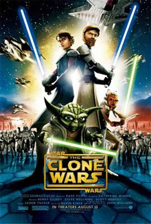 Star Wars: The Clone Wars  Poster Large