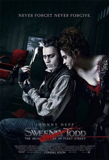Sweeney Todd: The Demon Barber of Fleet Street Poster Large