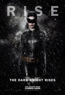 The Dark Knight Rises Poster Large