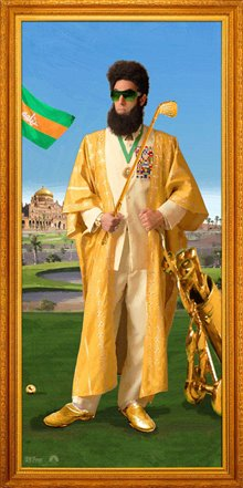 The Dictator Poster Large