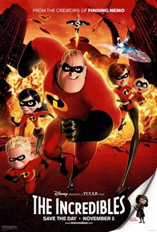 The Incredibles Poster Large