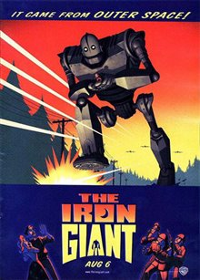 The Iron Giant Poster Large