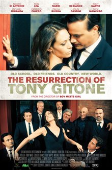 The Resurrection of Tony Gitone Poster Large