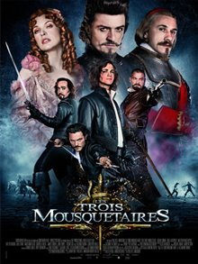 The Three Musketeers Poster Large
