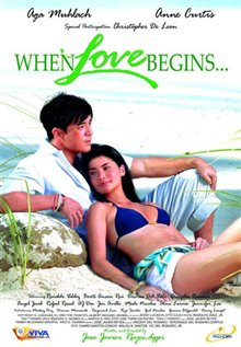 When Love Begins Poster Large
