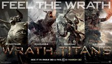 Wrath of the Titans Poster Large