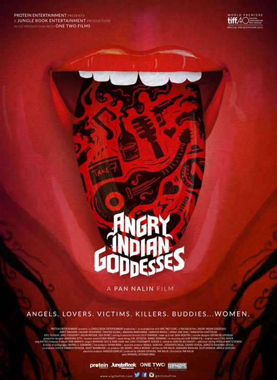 Angry Indian Goddesses Poster Large