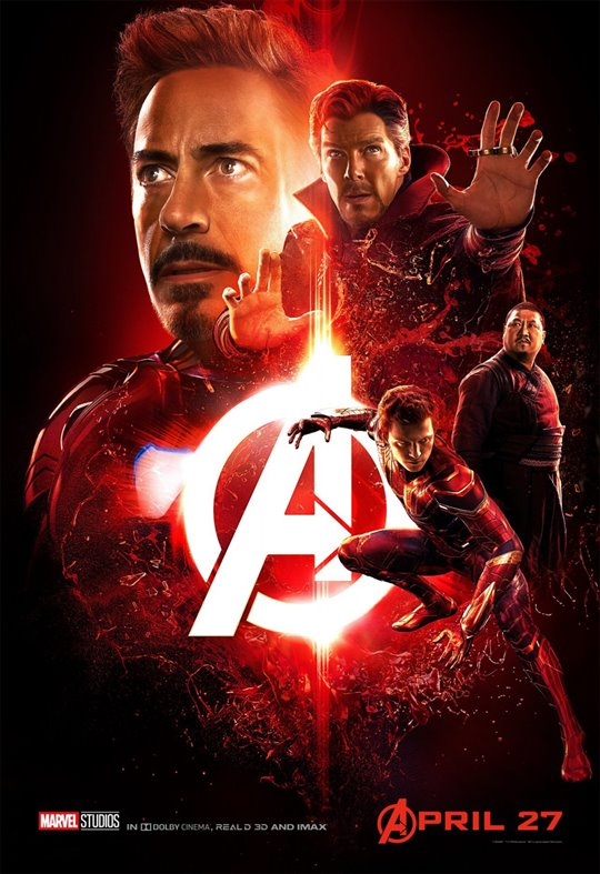 Avengers: Infinity War Poster Large