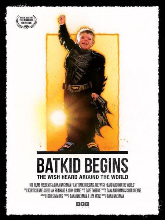 Batkid Begins Poster Large