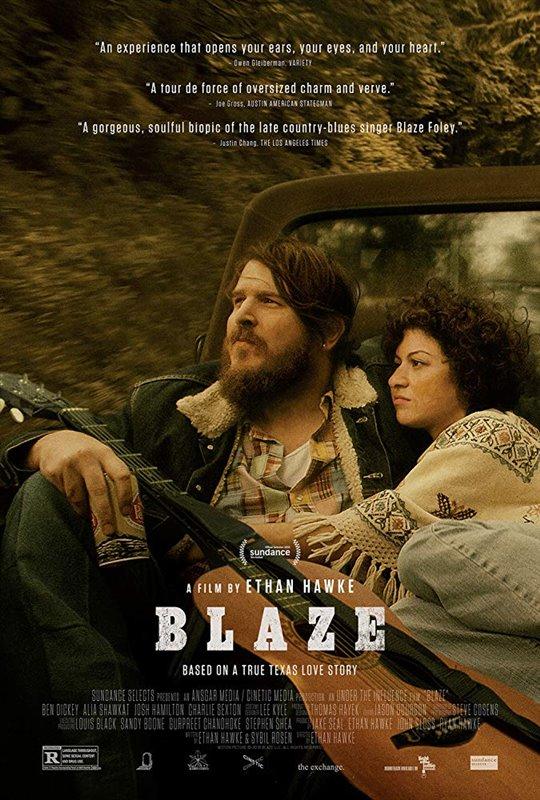 Blaze Poster Large