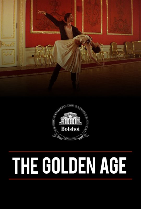 Bolshoi Ballet: The Golden Age Poster Large