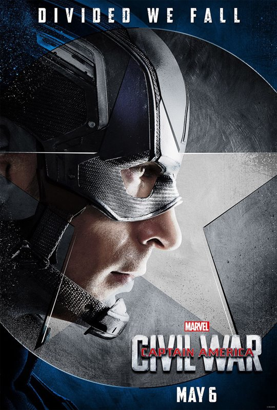 Captain America: Civil War Poster Large