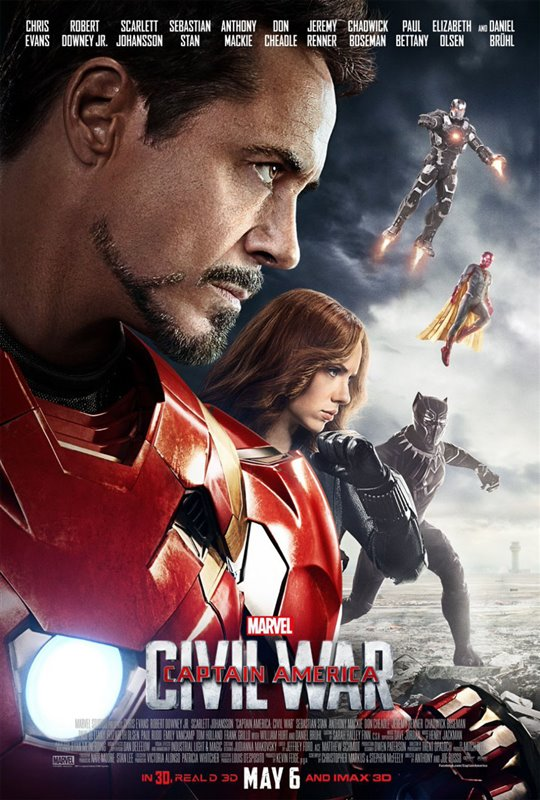Captain America: Civil War Poster Large