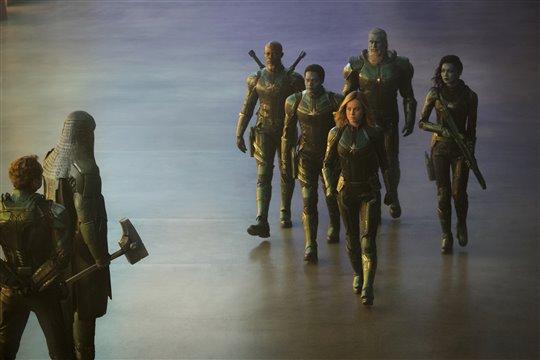 Captain Marvel Poster Large
