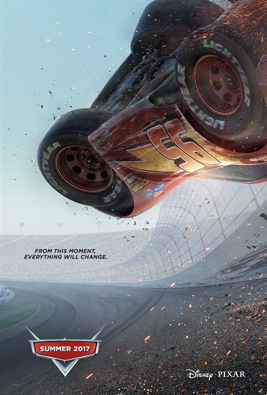 Cars 3 Poster Large