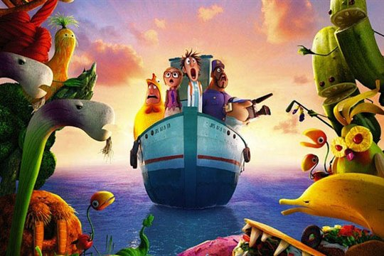 Cloudy with a Chance of Meatballs 2 Poster Large