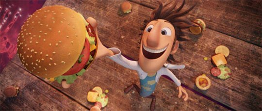 Cloudy with a Chance of Meatballs Poster Large