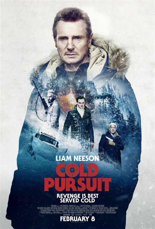 Cold Pursuit Poster Large