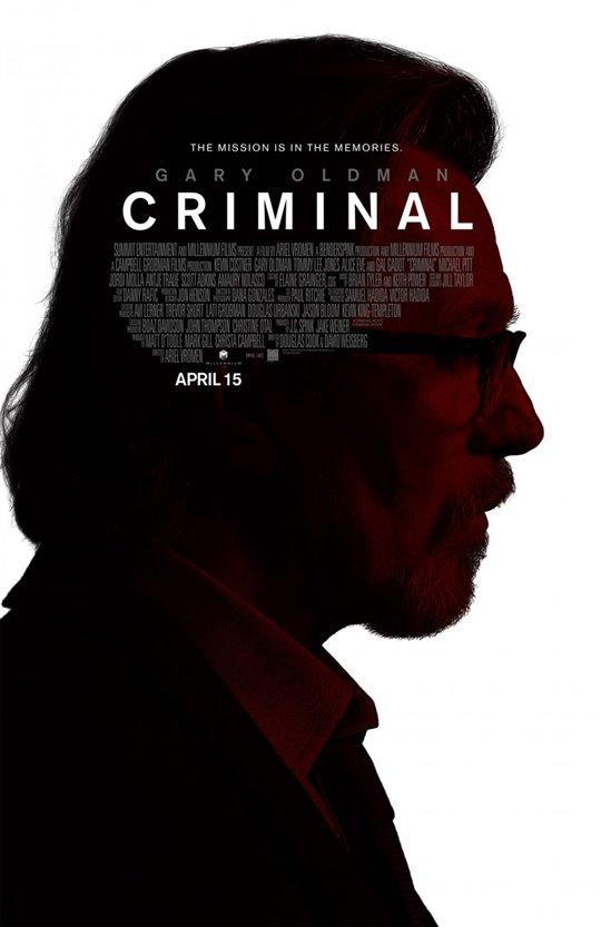 Criminal Poster Large