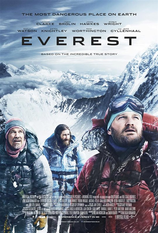 Everest Poster Large