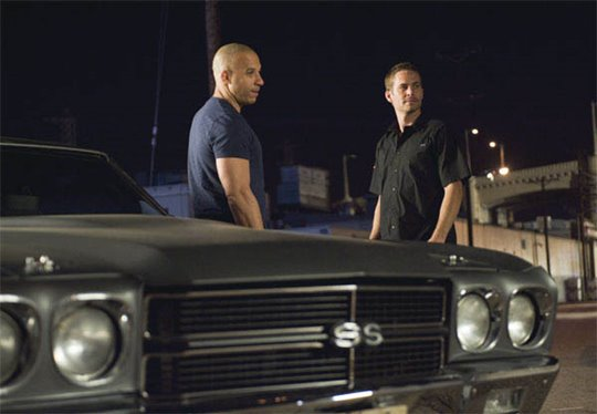 Fast & Furious Poster Large