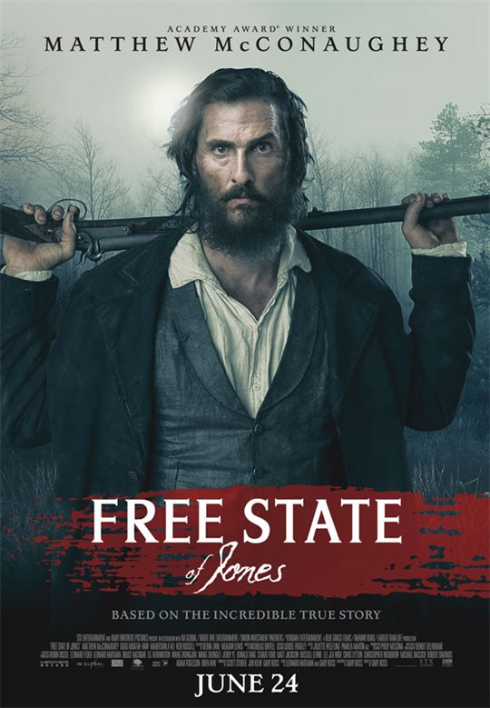 Free State of Jones Poster Large