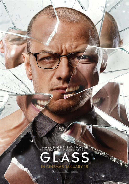 Glass Poster Large