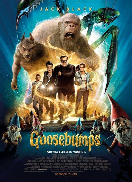 Goosebumps Poster Large
