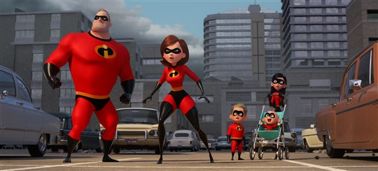 Incredibles 2 Poster Large
