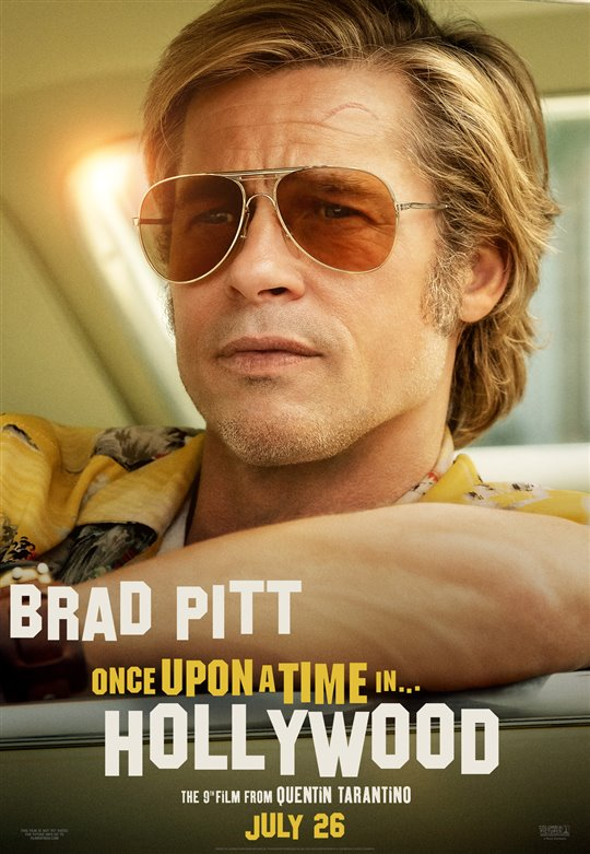 Once Upon a Time in Hollywood Poster Large