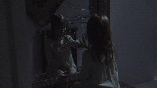 Paranormal activity boob shot