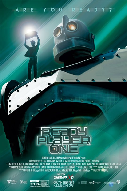 Ready Player One Poster Large