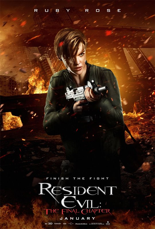 Resident Evil: The Final Chapter  Poster Large
