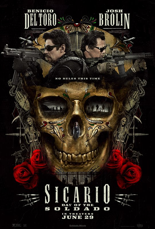 Sicario: Day of the Soldado Poster Large