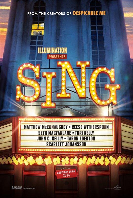 Sing Poster Large