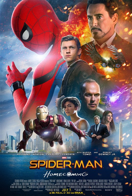 Spider-Man: Homecoming Poster Large