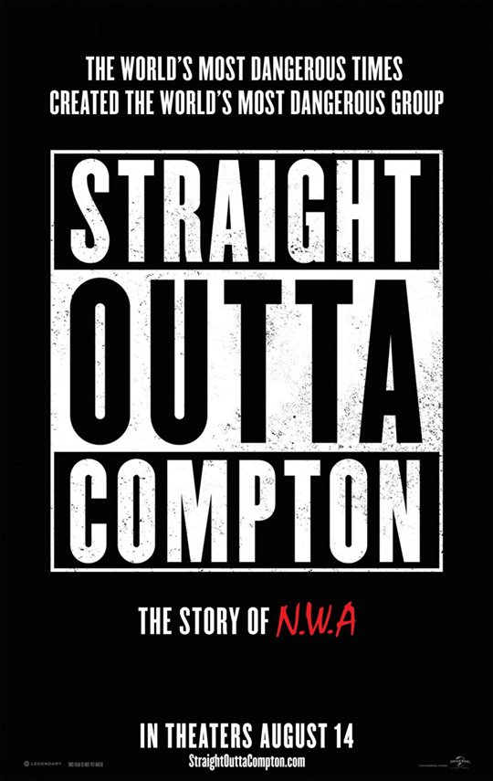 Straight Outta Compton Poster Large