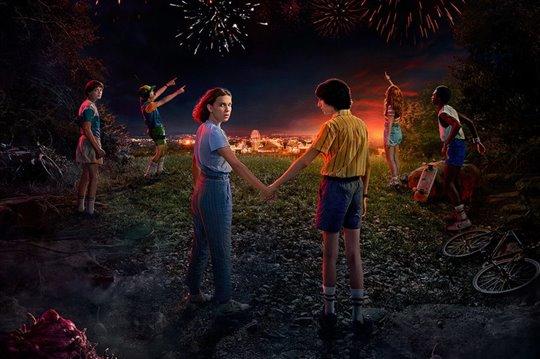 Stranger Things (Netflix) Poster Large